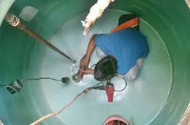 شركة نظافة خزانات المياة